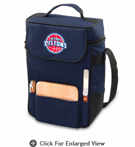 Picnic Time NBA - Navy Blue Duet Detroit Pistons