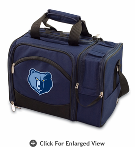 Picnic Time NBA - Navy Blue Malibu Memphis Grizzlies