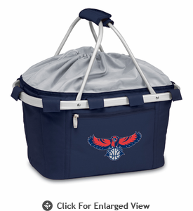 Picnic Time NBA - Navy Blue Metro Basket Atlanta Hawks