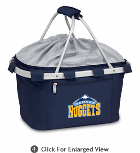 Picnic Time NBA - Navy Blue Metro Basket Denver Nuggets