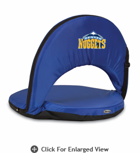 Picnic Time NBA - Navy Blue Oniva Seat Denver Nuggets