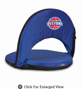 Picnic Time NBA - Navy Blue Oniva Seat Detroit Pistons