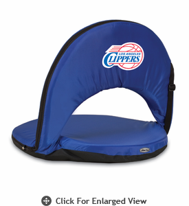 Picnic Time NBA - Navy Blue Oniva Seat Los Angeles Clippers