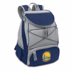 Picnic Time NBA - Navy Blue PTX Backpack Cooler Golden State Warriors