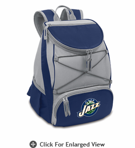 Picnic Time NBA - Navy Blue PTX Backpack Cooler Utah Jazz