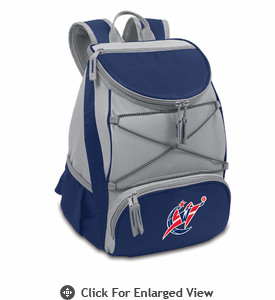 Picnic Time NBA - Navy Blue PTX Backpack Cooler Washington Wizards