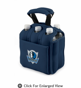 Picnic Time NBA - Navy Blue Six Pack Carrier Dallas Mavericks