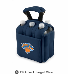 Picnic Time NBA - Navy Blue Six Pack Carrier New York Knicks