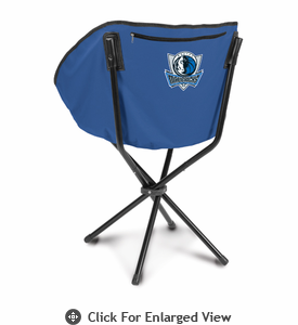 Picnic Time NBA - Navy Blue Sling Chair Dallas Mavericks