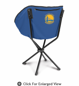 Picnic Time NBA - Navy Blue Sling Chair Golden State Warriors