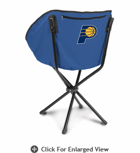Picnic Time NBA - Navy Blue Sling Chair Indiana Pacers
