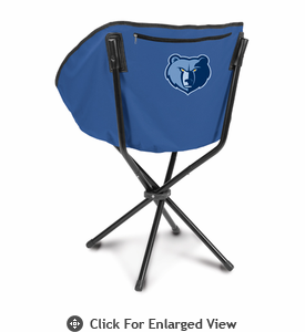 Picnic Time NBA - Navy Blue Sling Chair Memphis Grizzlies