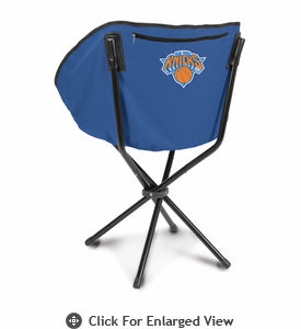 Picnic Time NBA - Navy Blue Sling Chair New York Knicks