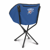 Picnic Time NBA - Navy Blue Sling Chair Oklahoma City Thunder