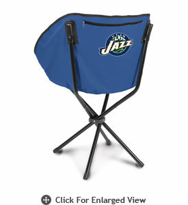 Picnic Time NBA - Navy Blue Sling Chair Utah Jazz