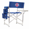 Picnic Time NBA - Navy Blue Sports Chair Detroit Pistons