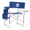 Picnic Time NBA - Navy Blue Sports Chair Philadelphia 76ers
