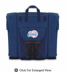 Picnic Time NBA - Navy Blue Stadium Seat Los Angeles Clippers