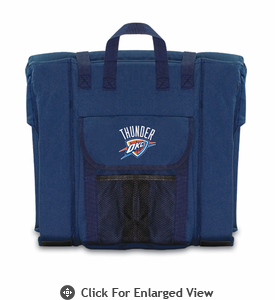 Picnic Time NBA - Navy Blue Stadium Seat Oklahoma City Thunder