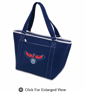 Picnic Time NBA - Navy Blue Topanga Cooler Tote Atlanta Hawks