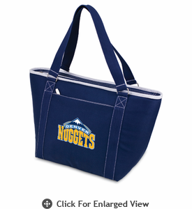 Picnic Time NBA - Navy Blue Topanga Cooler Tote Denver Nuggets