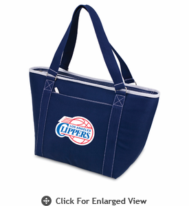 Picnic Time NBA - Navy Blue Topanga Cooler Tote Los Angeles Clippers