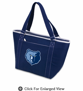 Picnic Time NBA - Navy Blue Topanga Cooler Tote Memphis Grizzlies