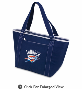 Picnic Time NBA - Navy Blue Topanga Cooler Tote Oklahoma City Thunder