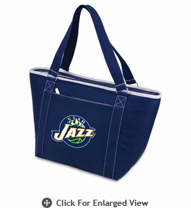 Picnic Time NBA - Navy Blue Topanga Cooler Tote Utah Jazz