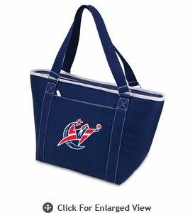 Picnic Time NBA - Navy Blue Topanga Cooler Tote Washington Wizards