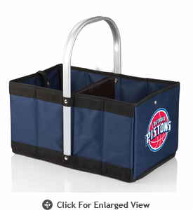 Picnic Time NBA - Navy Blue Urban Basket Detroit Pistons