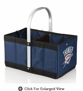 Picnic Time NBA - Navy Blue Urban Basket Oklahoma City Thunder