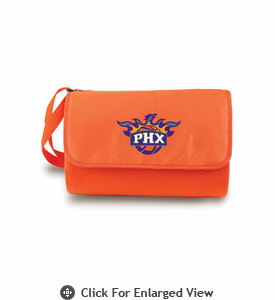 Picnic Time NBA - Orange Blanket Tote Phoenix Suns