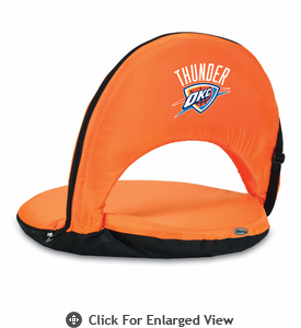 Picnic Time NBA - Orange Oniva Seat Oklahoma City Thunder