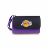 Picnic Time NBA - Purple Blanket Tote Los Angeles Lakers