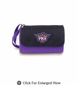 Picnic Time NBA - Purple Blanket Tote Phoenix Suns