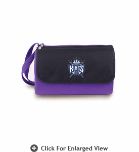 Picnic Time NBA - Purple Blanket Tote Sacramento Kings