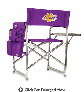 Picnic Time NBA - Purple Sports Chair Los Angeles Lakers