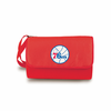 Picnic Time NBA - Red Blanket Tote Philadelphia 76ers