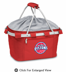 Picnic Time NBA - Red Metro Basket Detroit Pistons