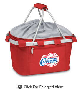 Picnic Time NBA - Red Metro Basket Los Angeles Clippers