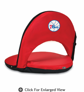 Picnic Time NBA - Red Oniva Seat Philadelphia 76ers