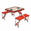 Picnic Time NBA - Red Picnic Table Sport Atlanta Hawks