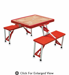 Picnic Time NBA - Red Picnic Table Sport Houston Rockets