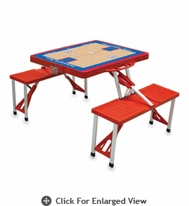 Picnic Time NBA - Red Picnic Table Sport Philadelphia 76ers