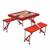 Picnic Time NBA - Red Picnic Table Sport Washington Wizards