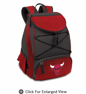 Picnic Time NBA - Red PTX Backpack Cooler Chicago Bulls