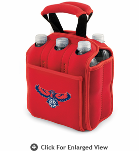 Picnic Time NBA - Red Six Pack Carrier Atlanta Hawks
