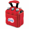 Picnic Time NBA - Red Six Pack Carrier Los Angeles Clippers