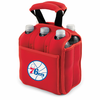 Picnic Time NBA - Red Six Pack Carrier Philadelphia 76ers